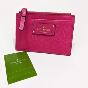 Kate Spade Grove Street Adi Leather Card Holder